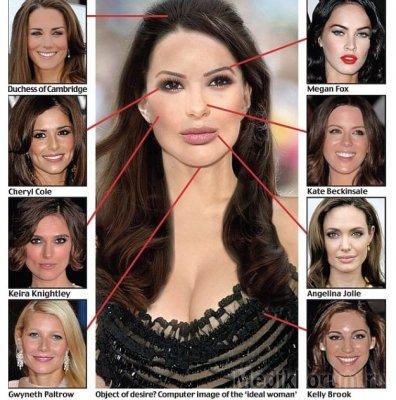 Пластические хирурги создали самое красивое в мире женское лицо