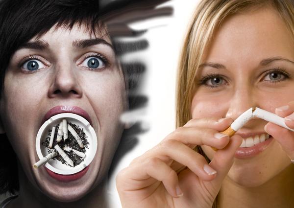 Отказ от курения предотвращает раннее обвисание груди