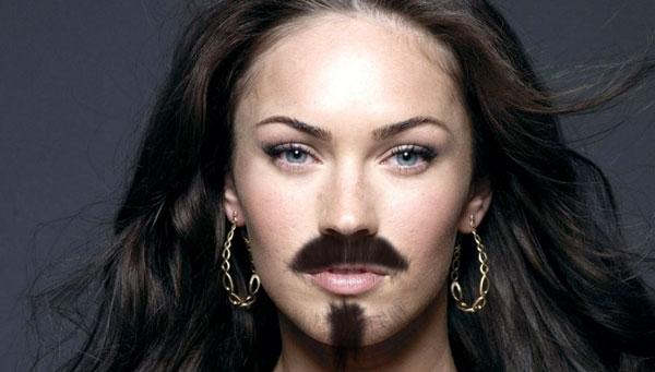 Почему у женщин растут усы?