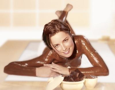Модная beauty-процедура шоколадное обёртывание