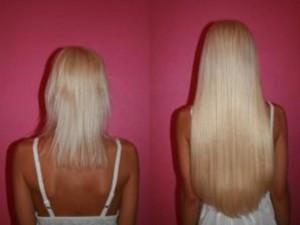 Наращивание волос: как это происходит