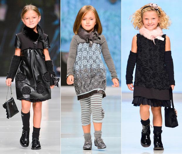 Модные тенденции детской одежды осень 2013