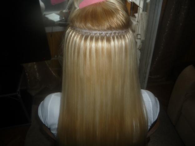 Достоинства кератина при наращивании волос