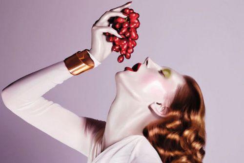 Удивительная польза винограда для волос