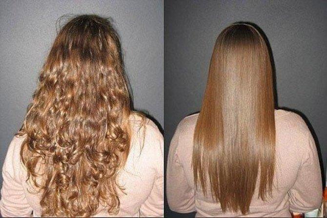 Выпрямление волос: дома и в салоне