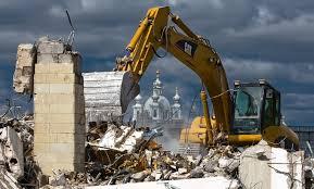 Снос зданий и вывоз мусора ― быстро и качественно