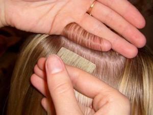 Можно ли и как красить нарощенные волосы