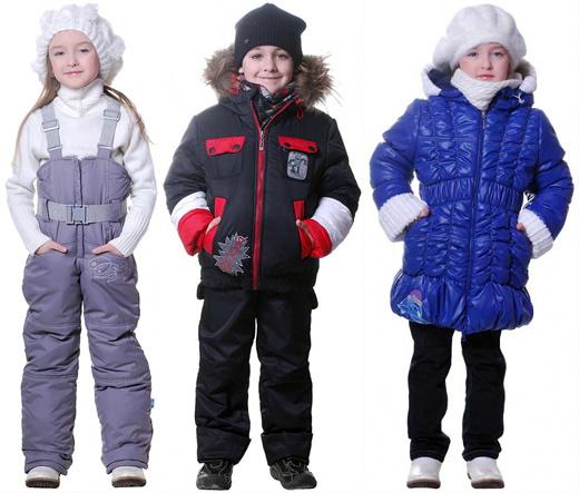 Выбираем зимнюю одежду для ребёнка