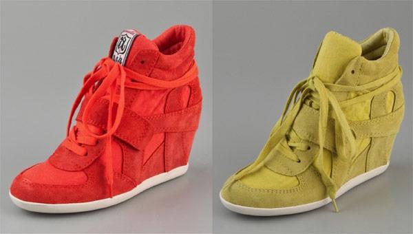 Кроссовки на платформе для современных модниц
