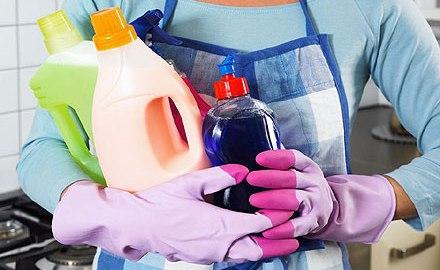 Влияние бытовой химии на организм человека