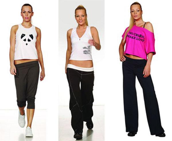 Одежда для спортивных девушек