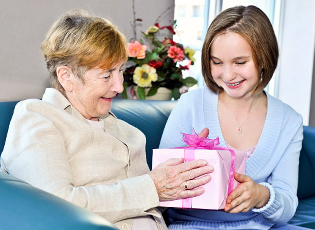 Подарок бабушке на нг своими руками