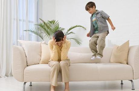 Как погасить детскую гиперактивность