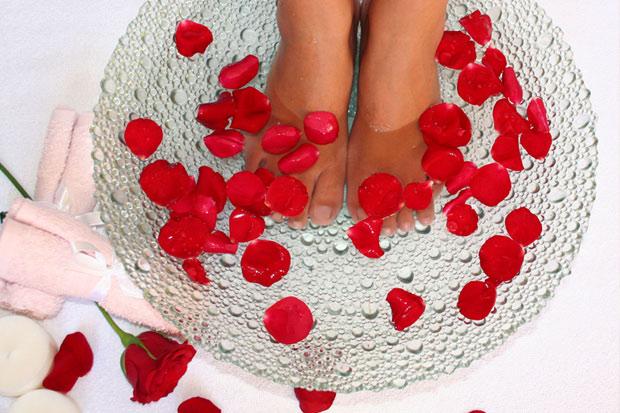 Как сделать ванночки для ног