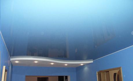 Натяжной потолок, процесс его установки
