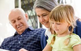 Роль бабушки в воспитании детей
