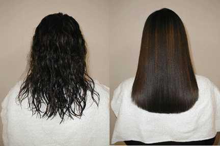 Безопасно ли кератиновое выпрямление волос?