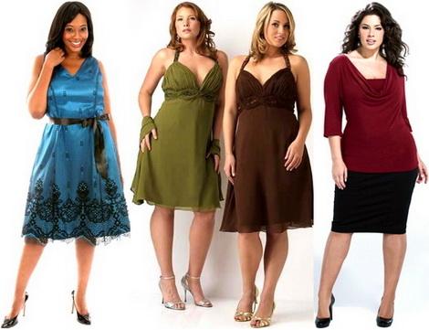 Каким должно быть вечернее платье для полной фигуры?
