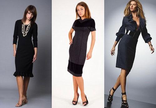 Фото модные платья в офис
