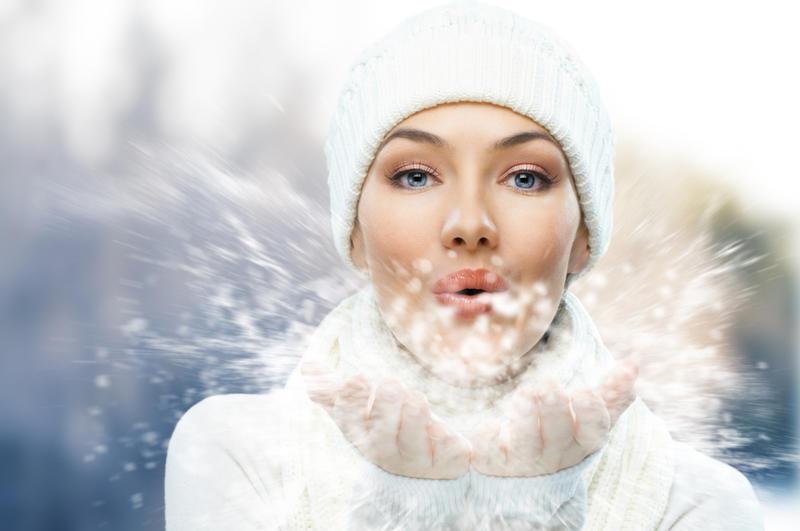 Нежная кожа в период холодов