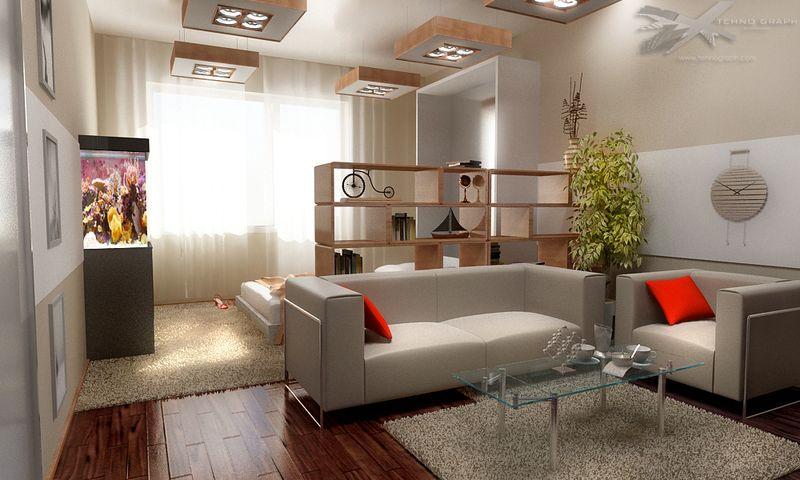 Дизайн и зонирование зала