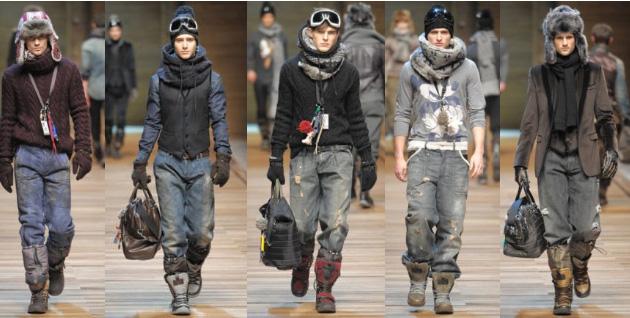 Модные оттенки в мужской одежде