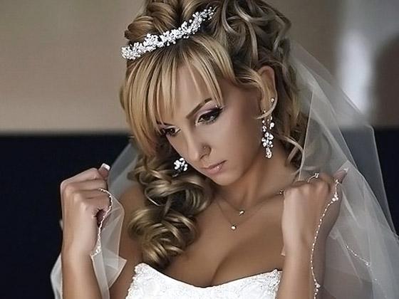 Свадебная прическа от любимой звезды