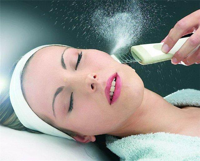 Как действует ультразвуковая чистка лица