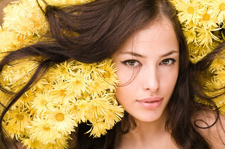 Уход за волосами и кожей лица при помощи косметических средств