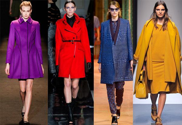 Удивляем цветом: модные обои 2014 года