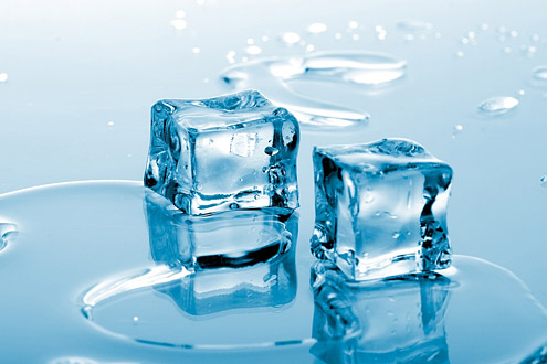 Способы приготовления «косметического» льда