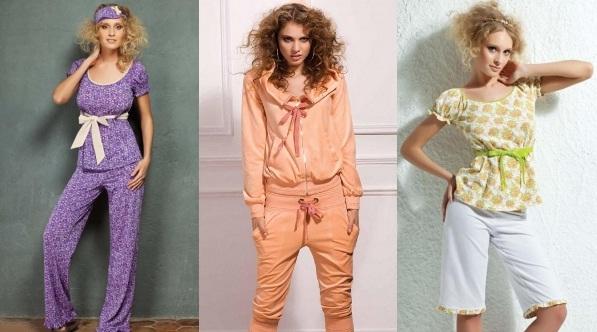 Прочь домашние халаты выбираем костюм для дома