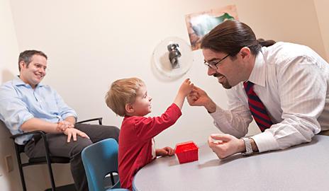 Работа мозга у детей с расстройствами аутистического спектра