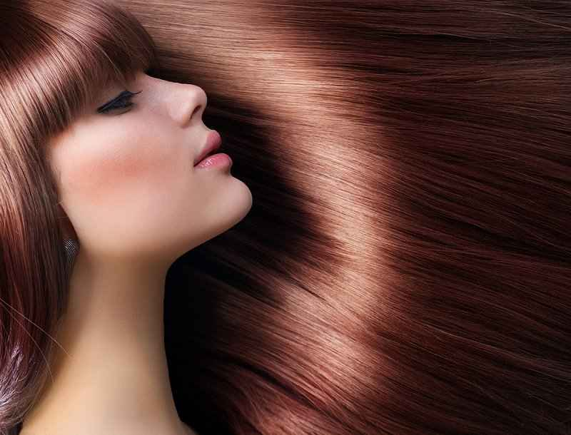 Биоламинирование волос для придания объема и блеска