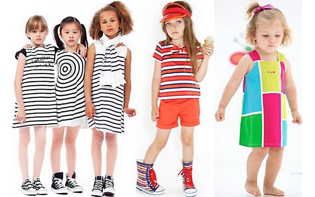 Модная детская одежда весна-лето 2015