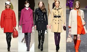 Модное осеннее пальто