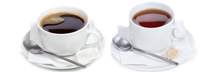 Чай и кофе, насколько они полезны?