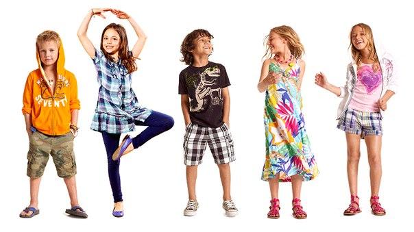 Детская одежда по возрасту