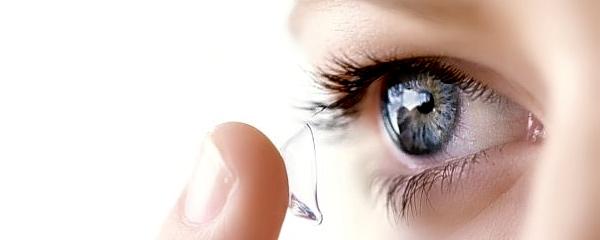 О контактных линзах