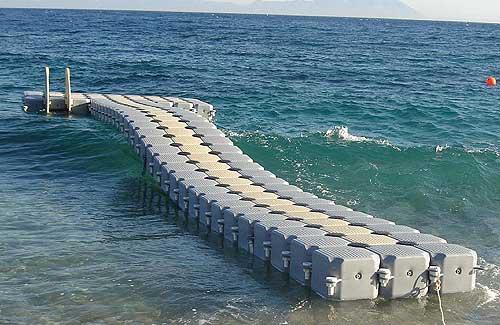 Понтоны водолазные, огромные возможности для работы на поверхности воды