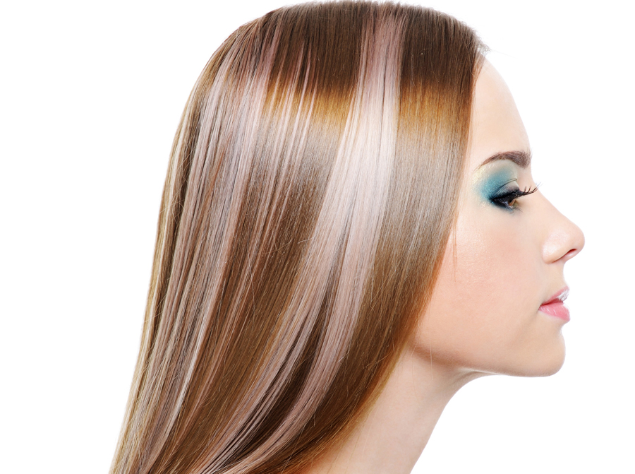Как делается колорирование волос