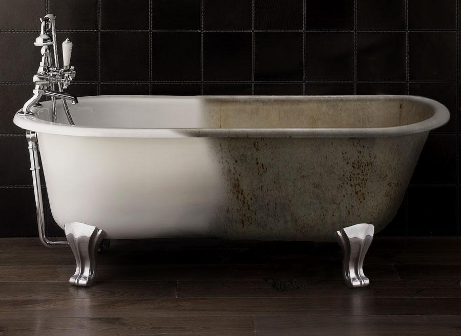 Реставрация чугунных ванн своими руками фото