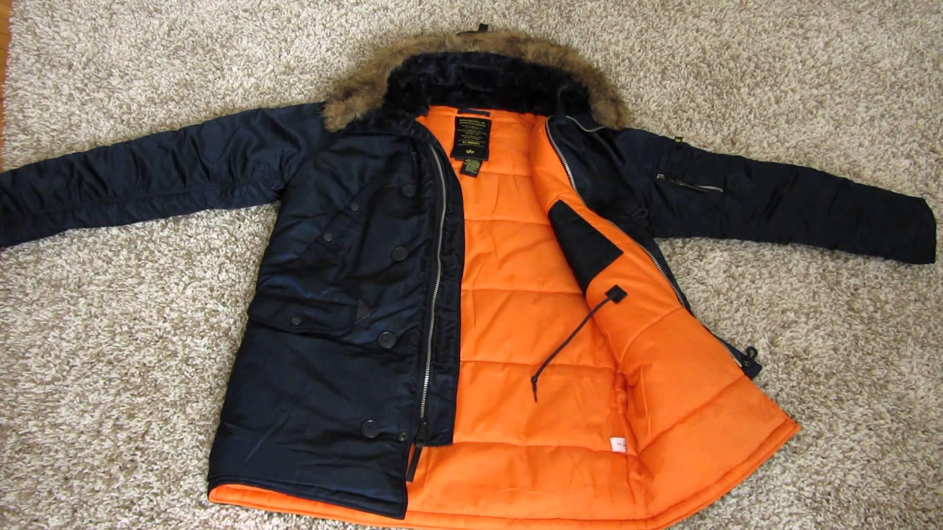 Куртки «Аляска» от Alpha Industries