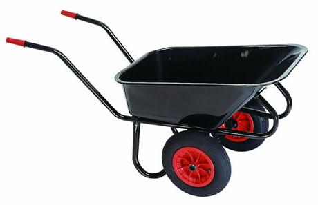 Как выбрать колеса для строительной тележки?