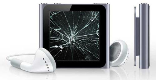iPod 4 nano и их ремонт