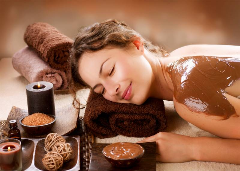 Шоколадное обертывание: балуем тело любимым лакомством