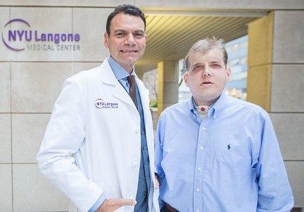 Американские хирурги провели сложнейшую операцию по пересадке лица