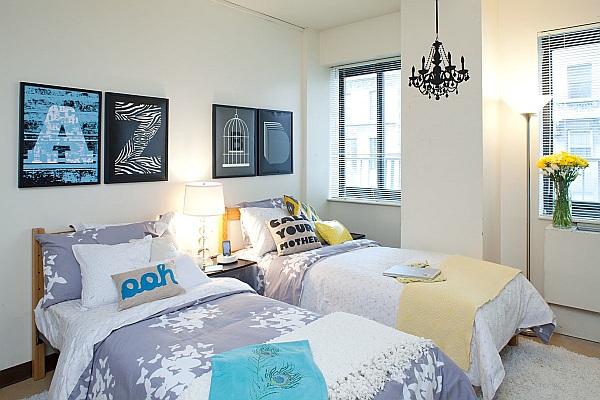 Как оформить комнату для девушки в общежитии, сделав ее по-домашнему уютной