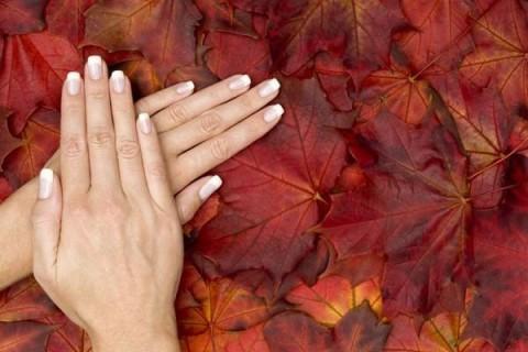 Особенности осеннего ухода за кожей рук
