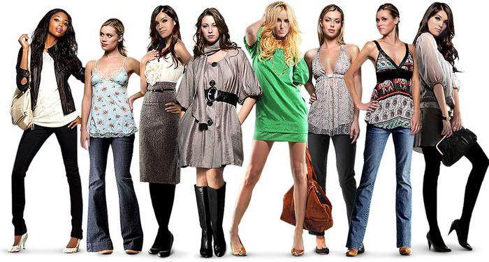 Тип фигуры и одежда